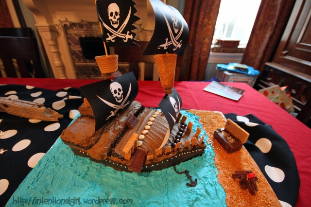 Pirate Cake - IG
