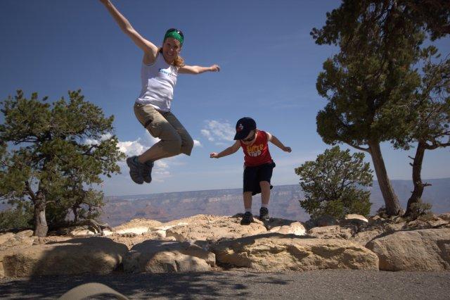Jumping Steph Ben